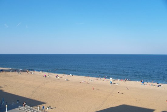 Atlantic Ocean At Virginia Beach