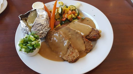 Lakeside, Californien: Meatloaf Dinner