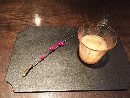 Le Lectier pear cocktail
