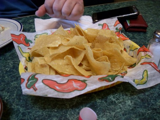 Adair, OK: The tostada chips are excellent too!