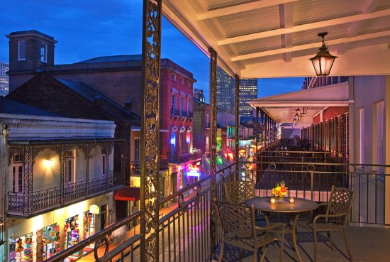 Four Points By Sheraton French Quarter: Bourbon Street Balcony