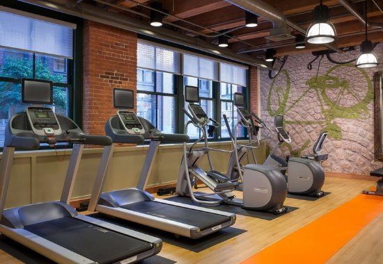 Residence Inn Boston Downtown/Seaport: Fitness Center