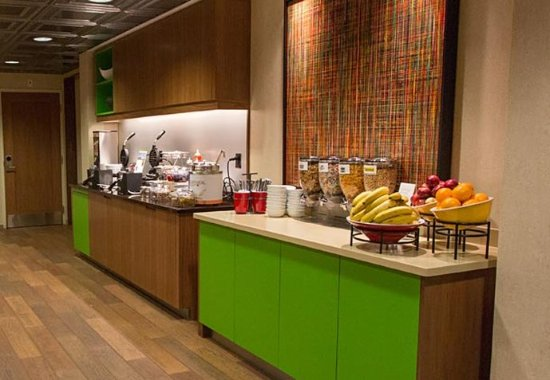 Residence Inn Boston Downtown/Seaport: Breakfast Area