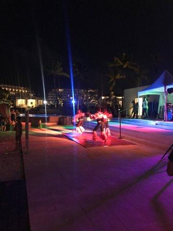 Cap Estate, St. Lucia: Caribbean beach party entertainment
