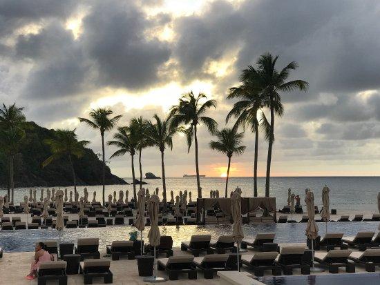 Cap Estate, St. Lucia: Beautiful sunsets