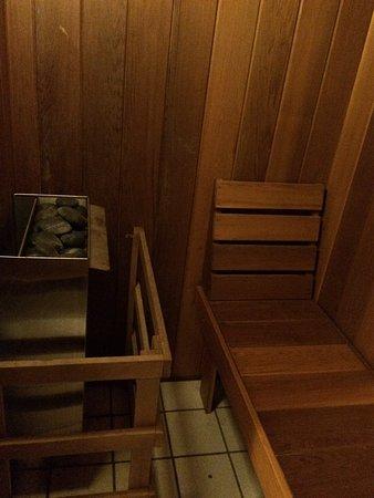 Cresco, PA: Sauna room in Mountain Retreat