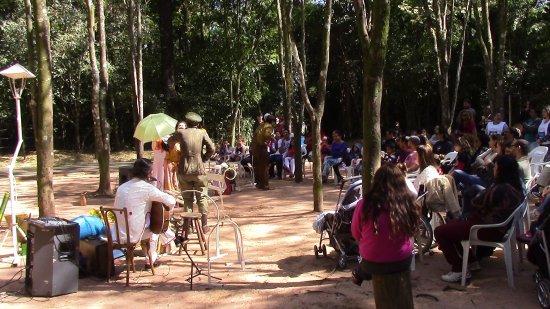 Marilia, SP: Apresentação teatral no Auditório dos Tocos