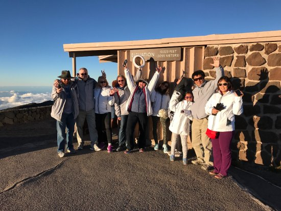 Maui Astronomy Tours: Our awesome group!