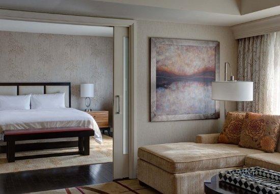 เดอะวูดแลนด์ส, เท็กซัส: Presidential Suite Living Room