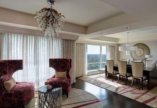 เดอะวูดแลนด์ส, เท็กซัส: Presidential Suite Dining Area