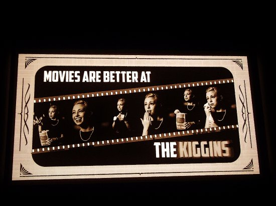 Kiggins Theatre: A Screen saver?