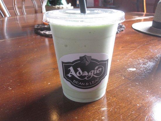 Adagio Bean and Leaf: Green tea deliciousness