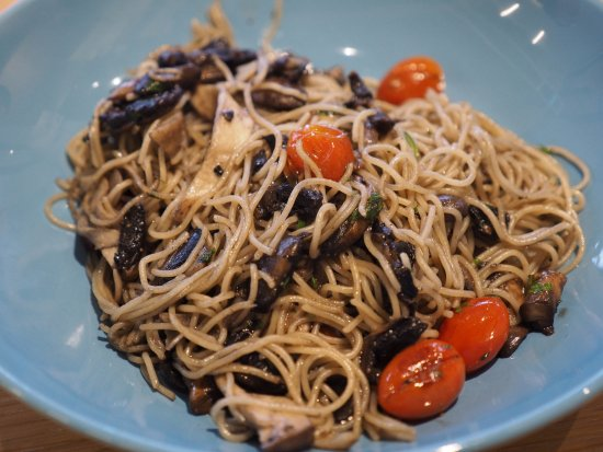Mushroom Angel Hair Pasta Picture Of Red Kettle Petaling Jaya