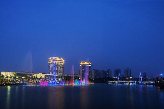Changde, China: Baima Lake view