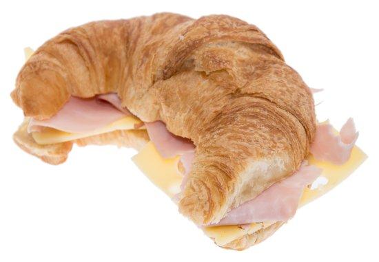 Veloce Paninoteca: Ham & cheese Croissant