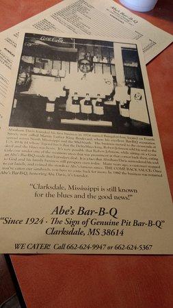 Abe's: abe's story