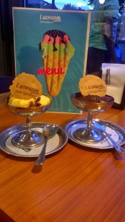 Thiene, Italia: cioccolato amaro e ricotta &fichi