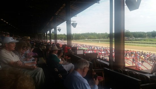 Clubhouse Views Picture Of Saratoga Race Course Saratoga Springs