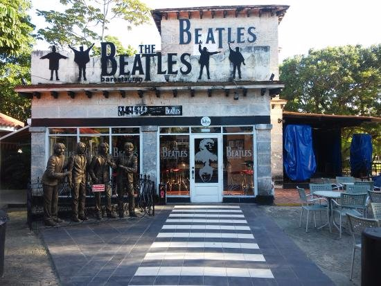 Santa Marta, Kuba: Beatles Bar Entrance