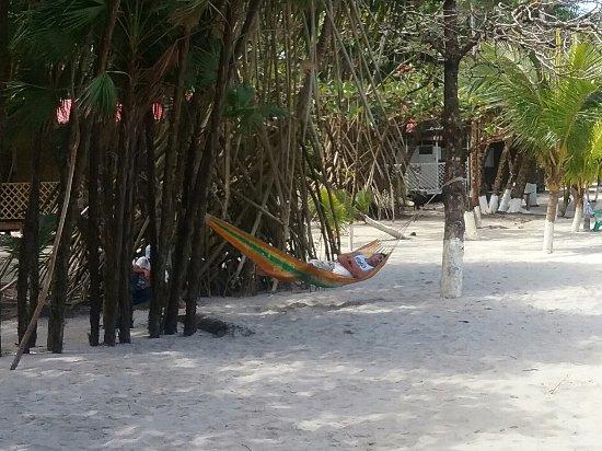 Playa Blanca, Guatemala: Après l effort  le réconfort