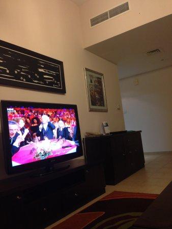 Dusit Residence Dubai Marina : living room