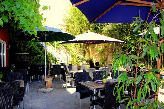 Casa Verde Hotel Restaurant: Unsere wunderschöne Terrasse