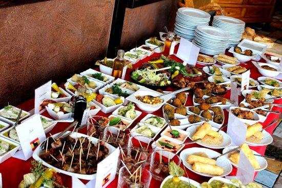 Casa Verde Hotel Restaurant: Tapas