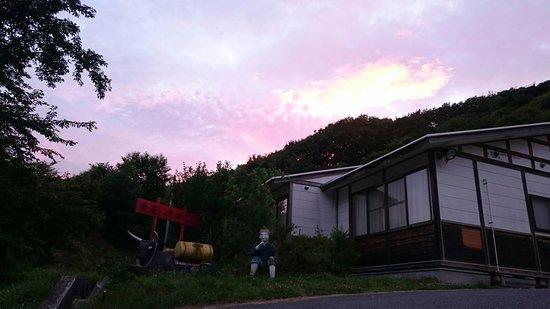 Rikuzentakata, Japan: 夕方の風景