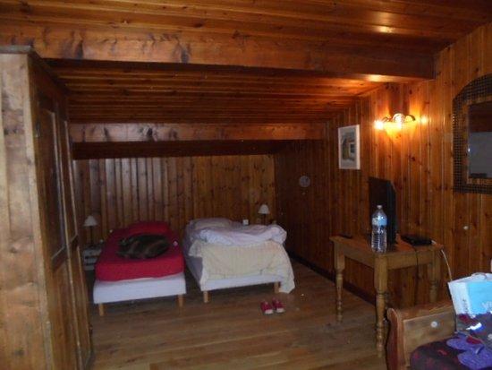 Montchavin, Франция: Chambre