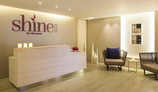 Sheraton Dubai Mall of the Emirates Hotel: Shine Spa Reception