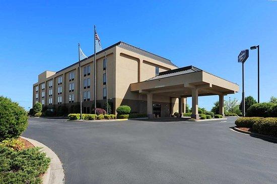 Gaffney, Carolina del Sur: Hotel Exterior