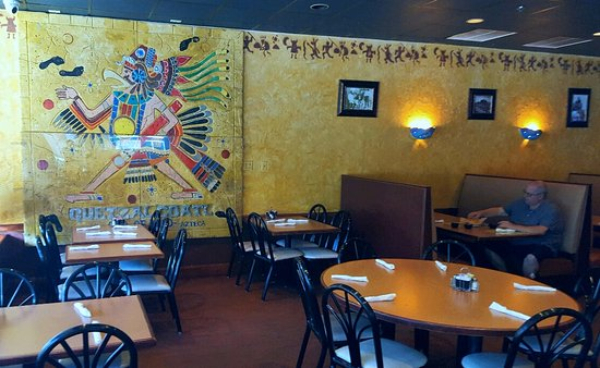 Quetzelcoatl mural - Picture of La Bamba Mexican and Spanish ...