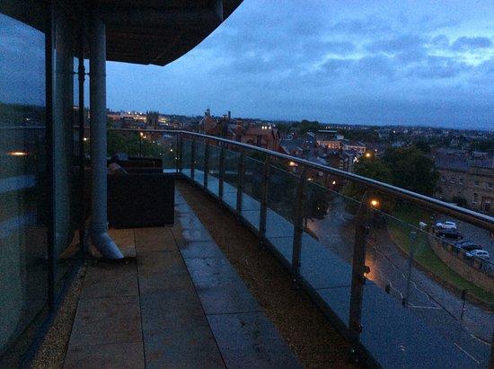 ABode Chester: Enormous balcony