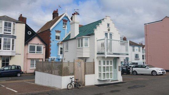 Westleton, UK: Smallest house, Aldeburgh
