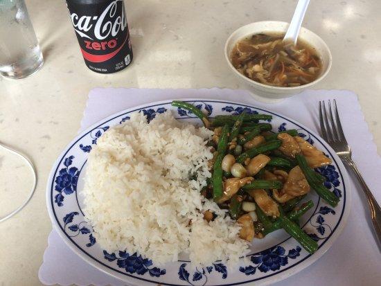 Hot Wok Bistro : Green bean chicken