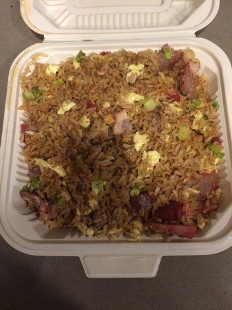 Hot Wok Bistro : Pork fried rice