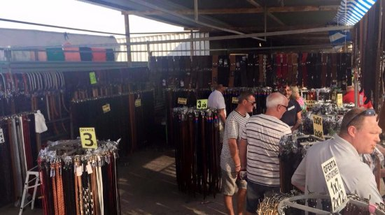 Algorfa, Spain: Cinturones para todos los gustos.