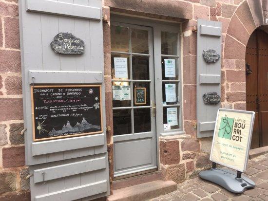 Saint-Jean-Pied-de-Port, ฝรั่งเศส: Bureau du 31 rue de la Citadelle