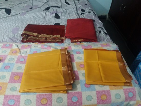 Damaged Two Piece Sarees Picture Of All India Arts And Crafts
