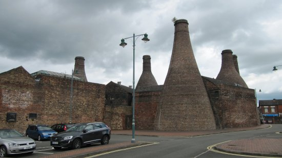 Longton, UK: View of the Pottery from the Car Park