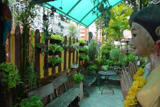Sam Sen Sam Place: La terrasse pour déjeuner