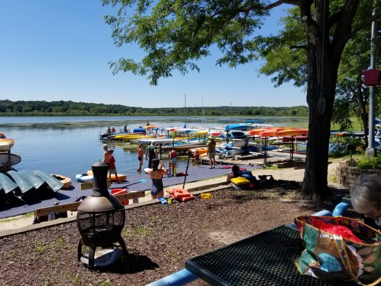 Wingra Park Madison If This Is What >> Wingra Boats Launching Area Picture Of Wingra Boats Madison