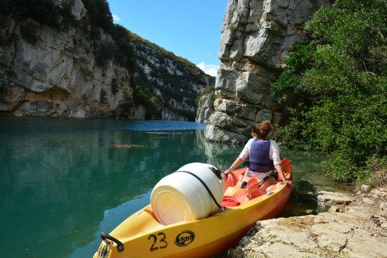Pelion, Grecja: Kayaking in Verdon