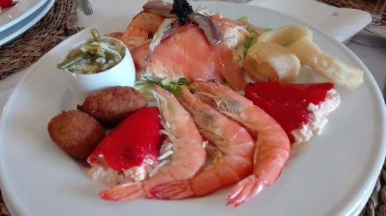El Toboso, Spain: Entremeses Dulcinea, gran primer plato, tierra y mar acompasados, exelente