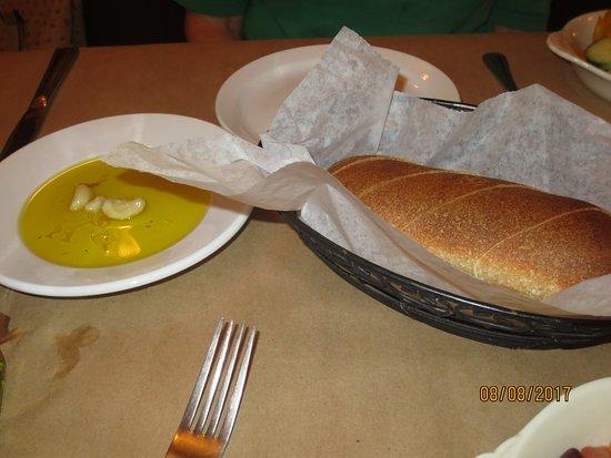 Newington, CT: fresh bread, olive oil and garlic