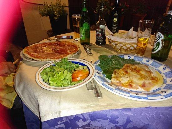 Panicarola, อิตาลี: Dinner