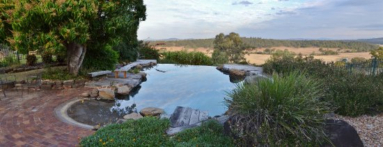 Grandchester, Australia: Infinity Pool beside Homestead.