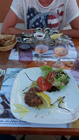 Z'Océane: Huîtres et tartare de thon ...exellent
