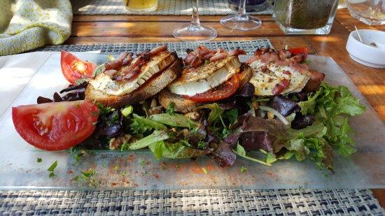 Arc en ciel : Salade