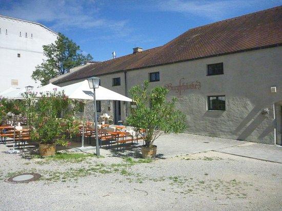 Eichstatt, Tyskland: Burgschänke